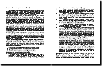 Maurice Duverger, La Vème, un régime semi-présidentiel