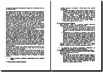 Le corps des secrétaires administratifs: décrets du 21 décembre 2010 et du 10 février 2011