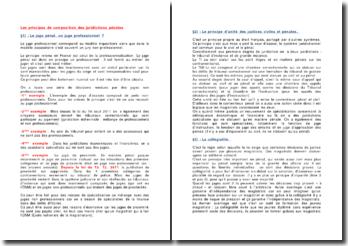 Les principes de composition des juridictions pénales