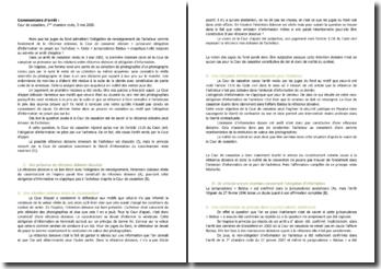 Commentaire d'arrêt de la Première Chambre civile de la Cour de cassation du 3 mai 2000 : l'obligation de renseignement de l'acheteur