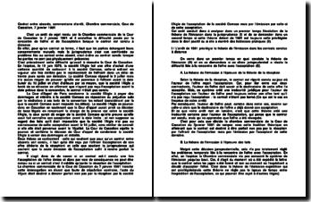 Contrat entre absents, commentaire d'arrêt, Chambre commerciale, Cour de Cassation, 7 janvier 1981