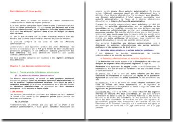 Les moyens juridiques de l'action administrative