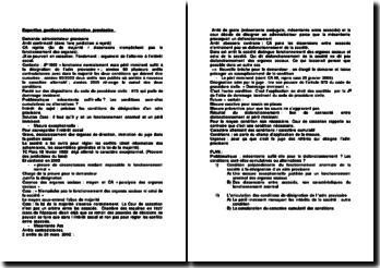 Expertise gestion/administrative provisoire