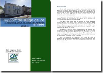 Rapport de stage effectué au sein de l'agence du Crédit Agricole de Bressuire : le phoning pour la prise de rendez-vous