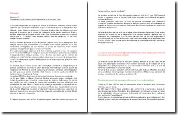 Commentaire d'arrêt de la Chambre sociale de la Cour de cassation du 27 mai 1997 : les modes de preuves de l'existence d'une section syndicale