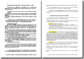 Commentaire d'arrêt de la Troisième Chambre civile de la Cour de cassation du 31 octobre 2012 : le droit de jouissance spécial