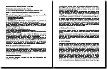 Trois essais sur la théorie sexuelle - Freud, 1905 : Les reconfigurions de la puberté