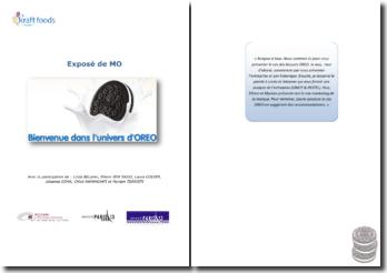 Etude de cas: les biscuits OREO