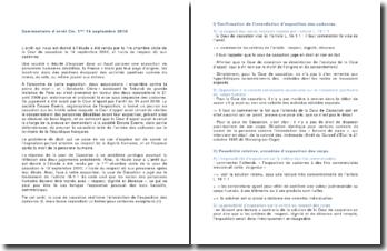 Commentaire d'arrêt de la Première Chambre civile de la Cour de cassation du 16 septembre 2010 : le respect dû aux cadavres