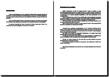 Rapport de stage effectué au sein d'une Société Civile Professionnelle