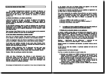La crise des missiles de Cuba (1962)