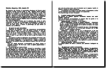 Rabelais, Gargantua, 1534, chapitre VII