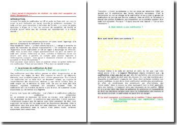 Vous parait-il nécessaire de réaliser un Code civil européen en Union européenne ?