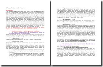 B. Pascal, Pensées, « Le Divertissement »