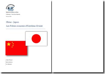 Chine - Japon: Les Frères ennemis d'Extrême-Orient