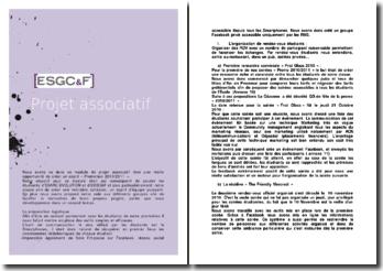 Projet associatif: cohésion et esprit d'équipe