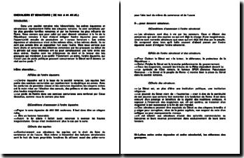 Chevaliers et Sénateurs de 133 à 44 av JC