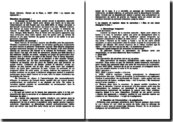 Roman de la Rose, v. 3497- 3794 - Guillaume de Lorris : La riposte des opposants