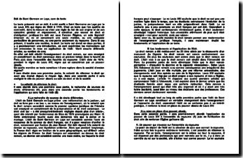 Edit de Saint Germain en Laye