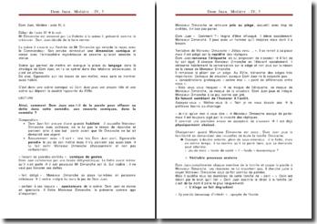 Dom Juan, Molière : acte IV, 3