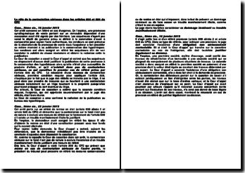 Le rôle de la contestation sérieuse dans les articles 808 et 809 du CPC