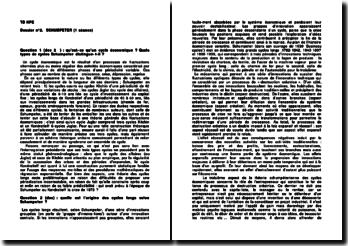 Histoire de la pensée politique : Schumpeter