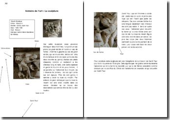 Etude d'une sculpture de la Basilique Sainte-Marie-Madeleine de Vézelay: le Moulin Mystique