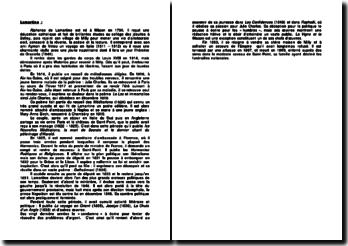 Une biographie d'Alphonse de Lamartine (1790-1869)