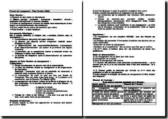 L'avenir du management : Peter Drucker (1999)