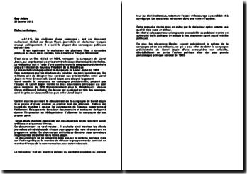 dissertation rapport jospin