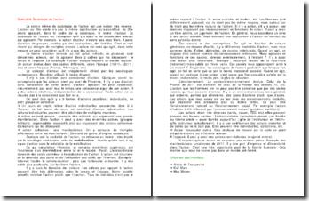 Spécialité sociologie de l'action : Alexis de Tocqueville