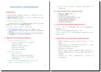 Les maladies nosocomiales