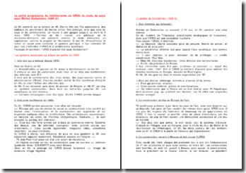 La sortie progressive du totalitarisme en URSS : la chute du pays sous Michel Gorbatchev 1985-91