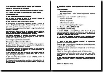 La consécration institutionnelle des syndicats après la Deuxième Guerre mondiale