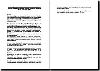 Fiche d'arrêt de la Troisième chambre civile de la Cour de cassation du 24 septembre 2008 : la clause pénale et la clause d'indemnité d'immobilisation