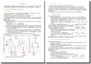 Cours de biochimie PACES (première année de médecine)