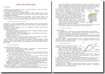 Cours sur les aspects réglementaires du médicament PACES (première année de médecine)