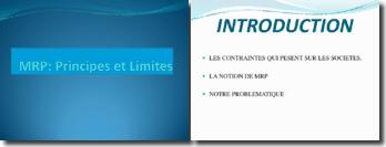 Le Material Requirements Planning : principes et limites