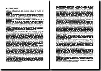 Révision constitutionnelle de juillet 2008 sur le contrôle de l'exécutif par le Parlement