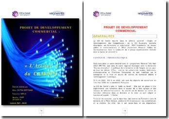 Projet de développement commercial : l'Atelier du Campus
