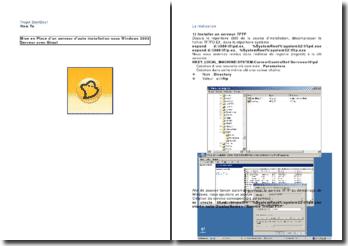 Projet BootBoot: mise en place d'un serveur d'auto installation sous Windows 2003 Serveur avec Ghost