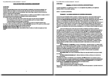 Le contentieux administratif français