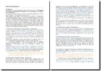 La procédure d'expropriation et les conditions d'utilisation de la procédure