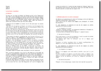La lettre de Fulbert de Chartres au Duc d'Aquitaine : le lien féodo-vassalique