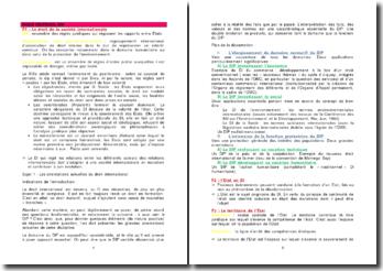 Les orientations actuelles du droit international