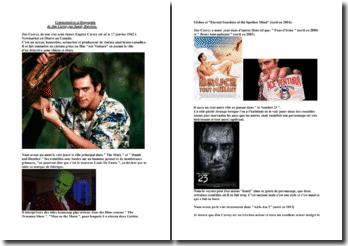 Commentaires et biographie de Jim Carrey