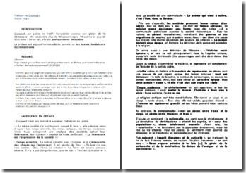 Cromwell - Victor Hugo : étude de la préface