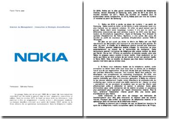Internat du Management. Innovation & Strategic diversification : Nokia