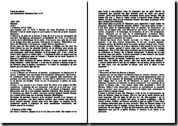 Les Confessions, livre I à IV - Rousseau