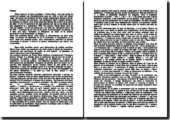 Les Contemplations, livre IV - Victor Hugo : Pauca Meae